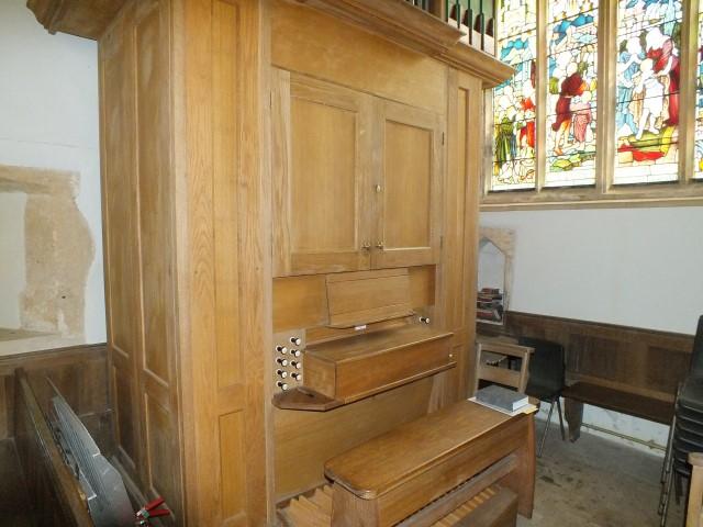 St Martin's organ
