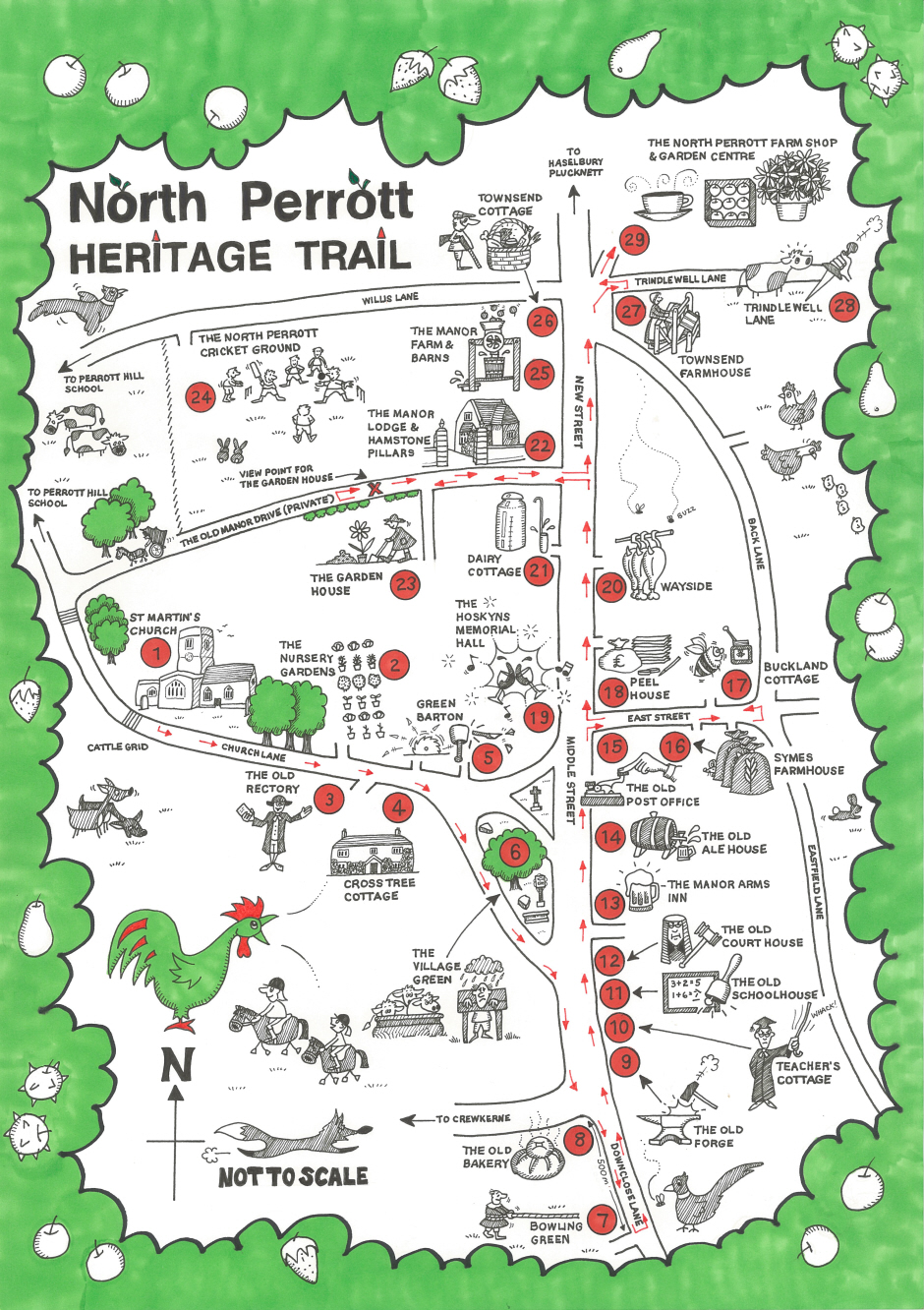 Heritage Trail Interactive Map